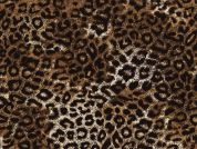 Timeless Treasures Leopard Poplin Quilting Fabric