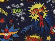 Timeless Treasures Superheroes Poplin Quilting Fabric