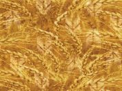 Timeless Treasures Golden Heart Poplin Quilting Fabric