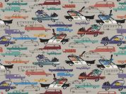 Timeless Treasures Cops & Robbers Poplin Quilting Fabric