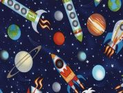 Timeless Treasures Out Of This World Poplin Quilting Fabric