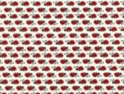 Timeless Treasures Ladybugs Poplin Quilting Fabric
