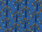 Timeless Treasures Autumn Trees Poplin Quilting Fabric
