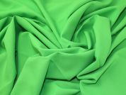 C6422 Emerald Green Textured Polyester Twill Fabric