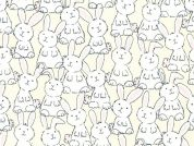 Timeless Treasures Baby Bunnies Quilting Fabric