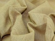 Jute Luxury Hessian Fabric  Natural