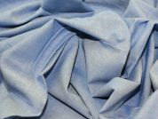 Cotton Chambray Dress Fabric  Pale Blue