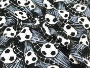 Timeless Treasures Football Goal Quilting Fabric