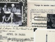 Timeless Treasures April In Paris Photo Collage Poplin Quilting Fabric