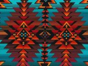 Timeless Treasures Southwest Blanket Poplin Quilting Fabric