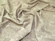 Damask Double Gauze Fabric  Beige