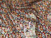 Glossy Waterproof Raincoat Fabric  Multicoloured