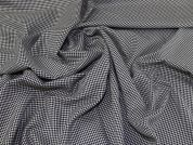 Houndstooth Suiting Fabric  Black & White