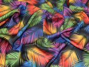 Silky Satin Fabric  Multicoloured