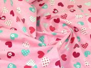 Cotton Flannel Fabric  Pink