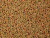 Cork Leather Fabric  Brown