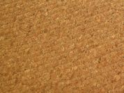 Quilted Cork Fabric  Brown
