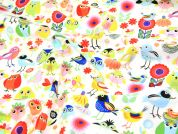 Timeless Treasures Birds Of A Feather Poplin Quilting Fabric