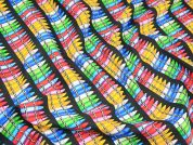 Timeless Treasures Pencil Crayons Quilting Fabric