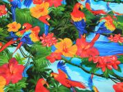 Timeless Treasures Parrots Quilting Fabric