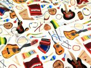 Timeless Treasures Classic Instruments Quilting Fabric