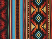 Timeless Treasures Southwest Stripe Poplin Quilting Fabric