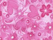 Timeless Treasures Pink Ribbon Poplin Quilting Fabric