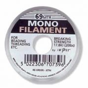 Impex Monofilament for Jewellery Making 690m