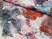 Lurex Brocade Fabric  Multicoloured