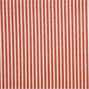 Christmas Stripe Print Polyester Felt Fabric Mini Roll  Red