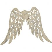Metal Wings  Silver
