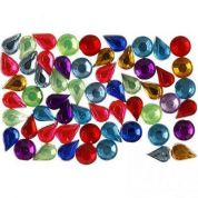 Diamante Gemstones  Assorted Colours