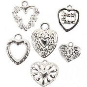 Metal Charms  Silver