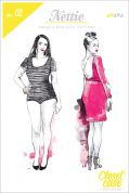 Closet Case Files Ladies Easy Sewing Pattern Nettie Dress & Bodysuit