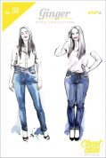 Closet Case Ladies Sewing Pattern Ginger Skinny Jeans