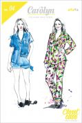 Closet Case Ladies Sewing Pattern Carolyn Pajamas