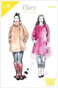 Closet Case Files Ladies Sewing Pattern Clare Coat