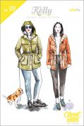 Closet Case Files Ladies Sewing Pattern Kelly Anorak Coat Jacket