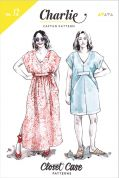 Closet Case Files Ladies Easy Sewing Pattern Charlie Caftan