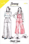Closet Case Files Sewing Pattern Jenny Trousers & Overall