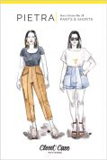 Closet Core Patterns Sewing Pattern Pietra Trousers & Shorts