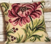 Collection dArt Cross Stitch Cushion Kit Wild Rose Right