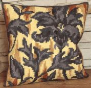 Collection dArt Cross Stitch Cushion Kit Silhouette on Right