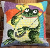 Collection dArt Cross Stitch Cushion Kit Mr Cora