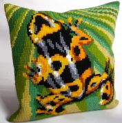 Collection dArt Cross Stitch Cushion Kit A New Day