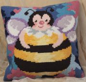 Collection dArt Cross Stitch Cushion Kit Honey Ball