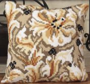 Collection dArt Cross Stitch Cushion Kit Chatelaine
