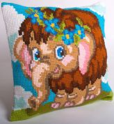 Collection dArt Cross Stitch Cushion Kit Daisy