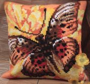 Collection dArt Cross Stitch Cushion Kit Flame