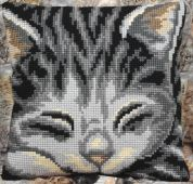 Collection dArt Cross Stitch Cushion Kit Jasmine